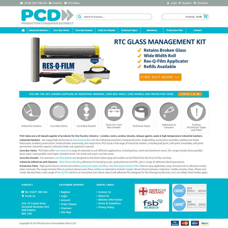 PCD Sales